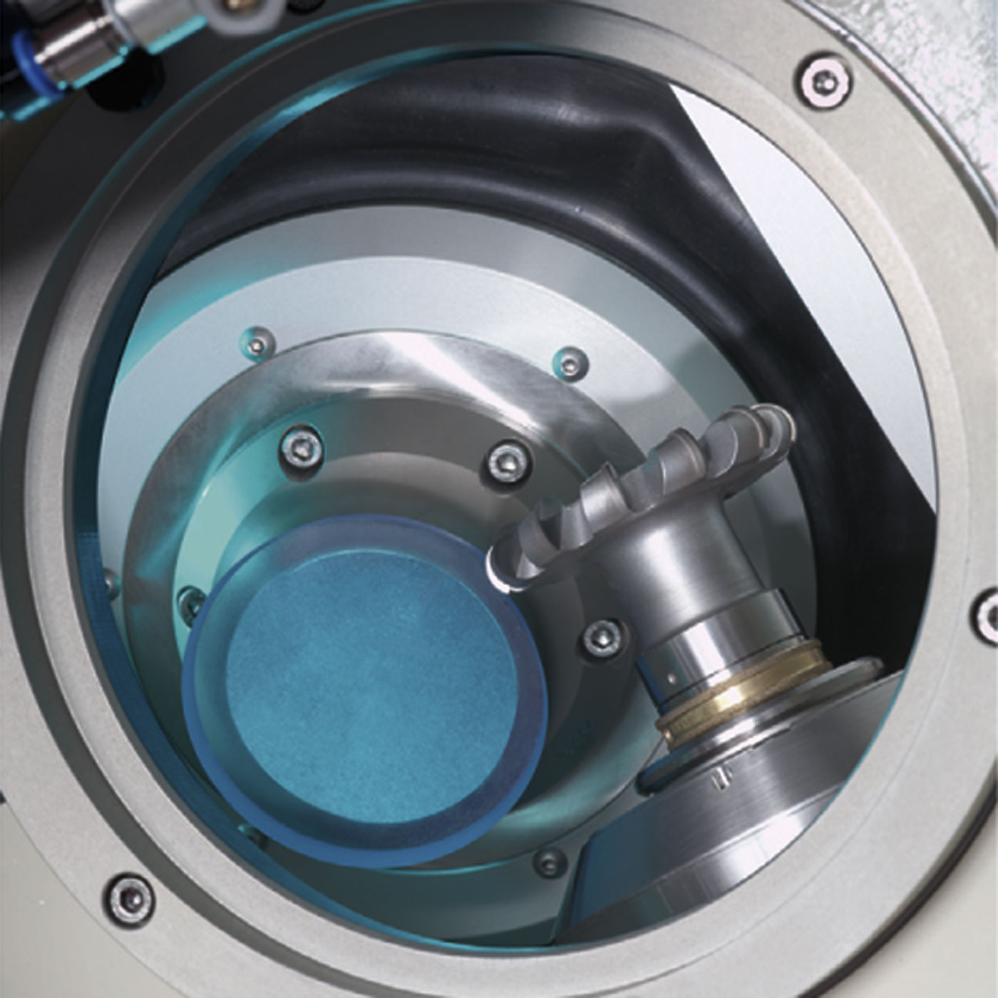 HSC nano X / sprint - lens and milling tool in an aencapsulated area